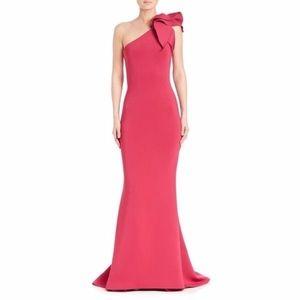 Jovani 32602 One Shoulder Dress. FUCHIA